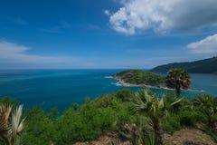 Cabo de Promthep as atrações de Phuket Foto de Stock