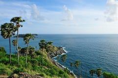 Cabo de Promthep, Phuket, Tailândia Foto de Stock