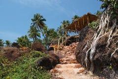 Cabo de Rama Beach, Goa Imagen de archivo libre de regalías