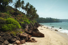 Cabo de Rama Beach, Goa Fotografia Stock