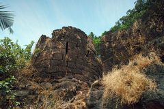 Cabo De Rama Fort. Goa, India Stock Photography