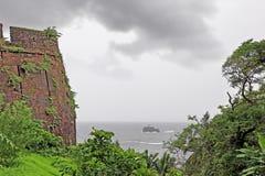 Cabo de Rama Fort Turret Stock Image