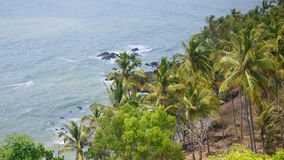 Cabo de rama, Goa Images stock