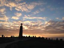 Cabo de roca Fotografie Stock Libere da Diritti