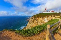 Cabo de roca lighthouse Royalty Free Stock Photography