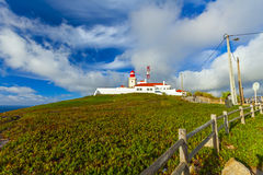 Cabo de roca lighthouse Stock Image