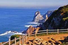 Cabo de Roca. In Portugal Stock Image