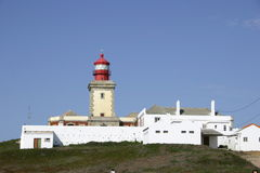 Cabo de Roca, Western most point in Europe Stock Photos