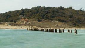 Cabo de Rodon imagens de stock