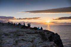 Cabo de São Vicente Fotografía de archivo libre de regalías