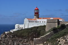 Cabo de S Vicente Στοκ φωτογραφίες με δικαίωμα ελεύθερης χρήσης