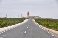 Cabo de Saint Vincent Imagens de Stock