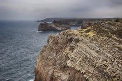 Cabo de Saint Vincent Fotografia de Stock Royalty Free