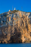 Cabo de San Antonio cape in Javea Denia at Spain Royalty Free Stock Photography