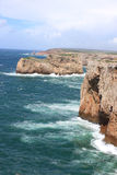 Cabo de Sao Vicente, Algarve, Portugal Royalty Free Stock Images