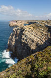 Cabo de Sao Vicente, Algarve, Portugal Royalty Free Stock Image