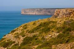 Cabo de Sao Vincente,阿尔加威,葡萄牙 库存图片