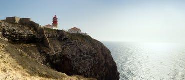 Cabo De Sao Vincente jest Południowym Zachodnim poradą Europa Zdjęcia Royalty Free