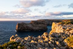 Cabo De Sao Vincente przylądek, Portugalia Zdjęcia Royalty Free