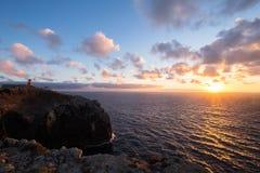 Cabo De Sao Vincente przylądek, Portugalia Obrazy Royalty Free