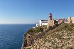 Cabo De Sao Vincente Sagres krańcowy punkt Europa Zdjęcie Royalty Free