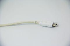 Cabo de USB Imagem de Stock