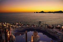 Cabo di trascuratezza di tramonto Fotografie Stock