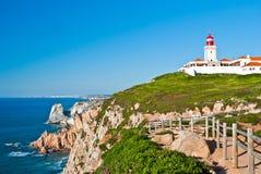 Cabo a Dinamarca Roca Foto de Stock Royalty Free