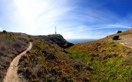 Cabo a Dinamarca Roca Fotografia de Stock Royalty Free