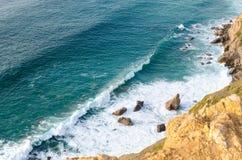 Cabo a Dinamarca Roca, Portugal foto de stock royalty free