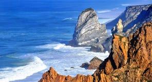 Cabo a Dinamarca Roca, Portugal Imagens de Stock