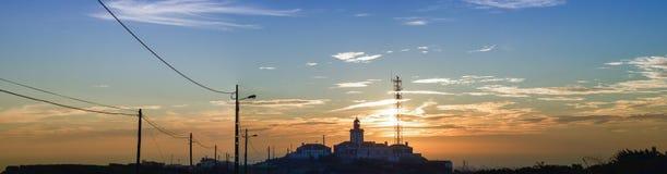 Cabo a Dinamarca Roca, Portugal Imagens de Stock Royalty Free