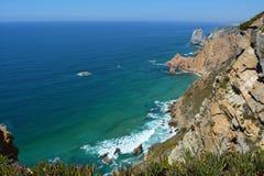 Cabo a Dinamarca Roca Seascape Imagem de Stock Royalty Free