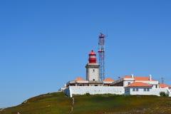 Cabo a Dinamarca Roca Seascape Foto de Stock Royalty Free