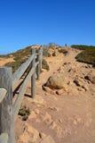 Cabo a Dinamarca Roca Seascape Foto de Stock