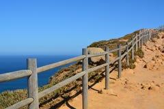Cabo a Dinamarca Roca Seascape Imagens de Stock Royalty Free