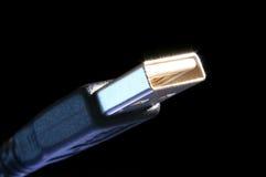Cabo do USB Fotografia de Stock Royalty Free