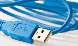 Cabo do USB Imagem de Stock Royalty Free