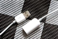 Cabo do USB Imagens de Stock Royalty Free