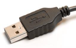 Cabo do USB Fotografia de Stock