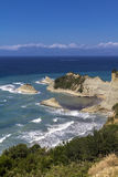 Cabo Drastis, Corfu Fotografia de Stock