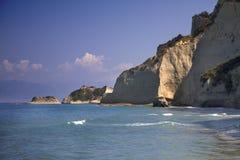Cabo Drastris, Corfú Fotos de archivo libres de regalías