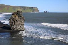 Cabo Dyrholaey Imagen de archivo libre de regalías