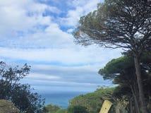 Cabo Espartel foto de archivo
