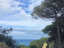 Cabo Espartel 库存照片