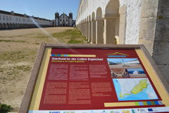 Cabo Espichel Lizenzfreies Stockfoto