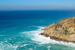 Cabo Espichel Schöne Landschaft Ansicht von der Oberseite Stockfotos