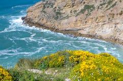 Cabo Espichel Schöne Landschaft Ansicht von der Oberseite Lizenzfreies Stockfoto