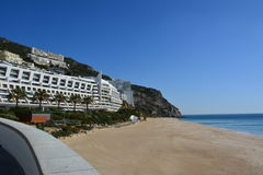 Cabo Espichel. At sesimbra in Portugal. Awesome place to see Stock Photos