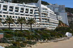 Cabo Espichel. At sesimbra in Portugal. Awesome place to see Stock Images